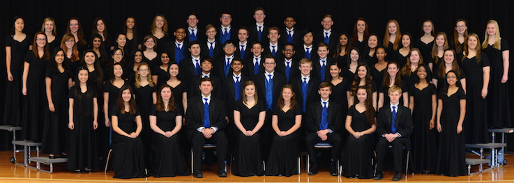 2014-2015 A cappella Choir